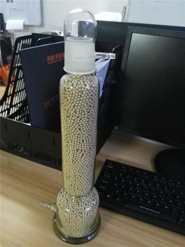 分子筛玻璃干燥塔(米淇手套箱干燥处理专用)