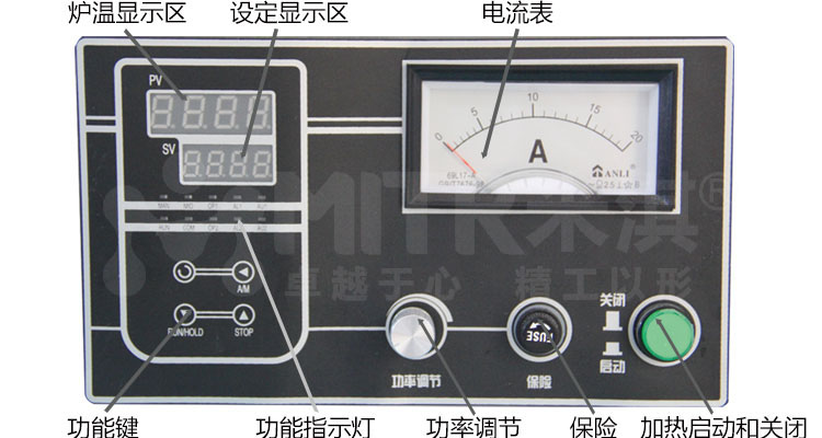 米淇节能式电炉系列(细节)